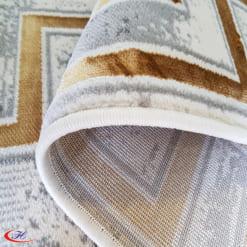 Thảm được đính thêm nhung tạo sự sang trọng