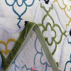 Thảm trải sàn Kura với hoa jtieets được cắt tỉa lộ đế