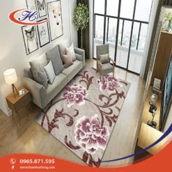 Thảm trải sàn Bavarian với họa tiết mềm mại