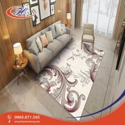 Thảm trải sàn nhà Bavarian tạo không gian mới mẻ đầy màu sắc và tươi sáng.