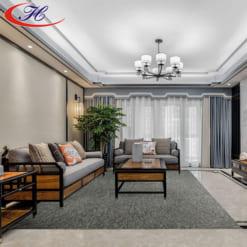 Tông màu và chất liệu thảm trải sàn Mainz 01 đem lại vẻ sang trọng cho căn phòng