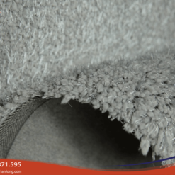 Mặt thảmđược dệt từ 2 loại sợi êm ái sang trọng