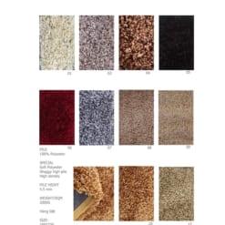 Thảm trải sàn Dibagangsan có 10 màu đa dạng
