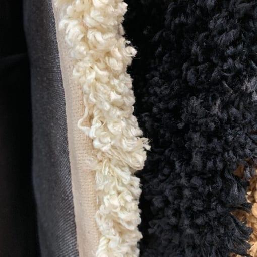 Thảm lông Dibagangsan với đầu sợi xù xoăn mềm mại