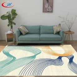 Tấm thảm trải sàn đẹp làm làm nên linh hồn cho căn phòng