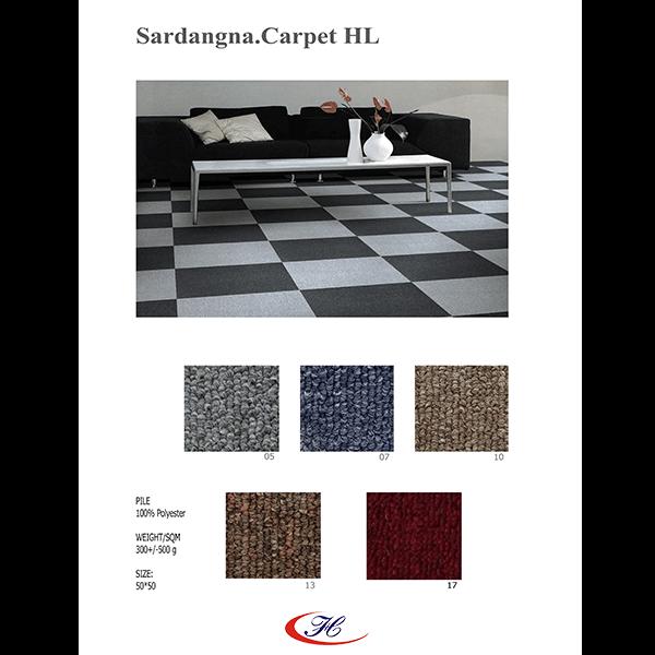 Thảm văn phòng giá rẻ Sadangna có 5 màu đa dạng