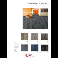 Dòng thảm văn phòng Woodbine có 6 màu đa dạng