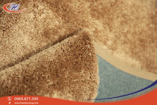 Thảm trải sàn 3G 03 với Sợi lông nhỏ, xoắn, đanh, mật độ sợi dày
