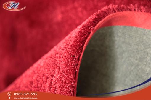 Thảm trải sàn 3G 15 với sợi lông nhỏ, xoắn, đanh, mật độ sợi dày