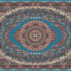 Thảm trải sàn Antalya 10360LB với Hoa văn cầu kỳ, mỗi một chi tiết đều toát lên sự tinh xảo