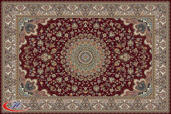 Thảm trải sàn Antalya 11017BU với Hoa văn cầu kỳ, mỗi một chi tiết đều toát lên sự tinh xảo