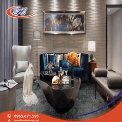 Tông màu và chất liệu thảm trải sàn Mainz 02 đem lại vẻ sang trọng cho căn phòng