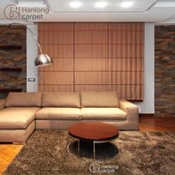Thảm trải sàn HLYP18119 06 với chất liệu 100% Super Soft Polyester